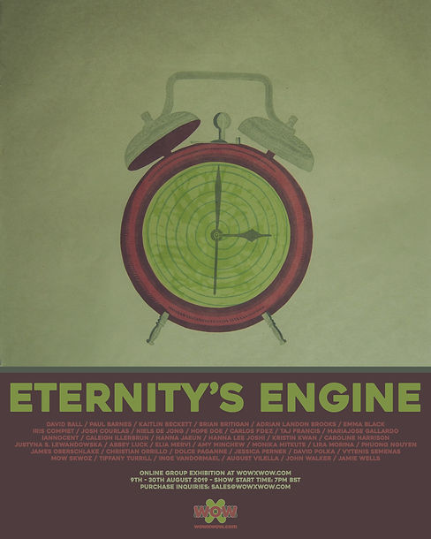 Eternity's Engine - Blank Flyer Template