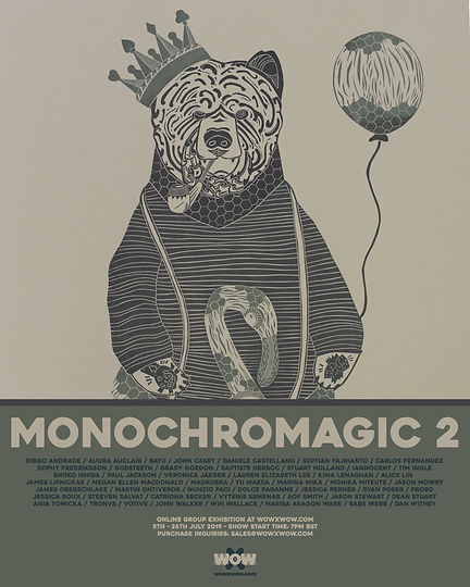 Monochromagic 2 - Flyer Template - (Phot