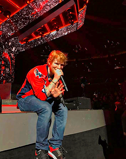 Ed Sheeran performance at Capital One Arena