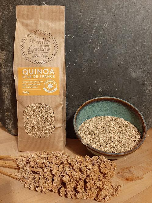 Quinoa d'Ile de France