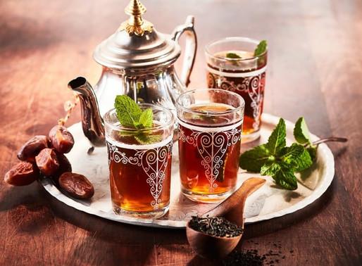 Marokkanischen Minztee zubereiten