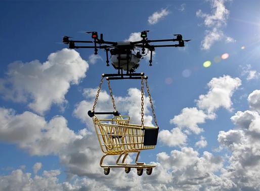 Bald Drohnen statt Postboten?