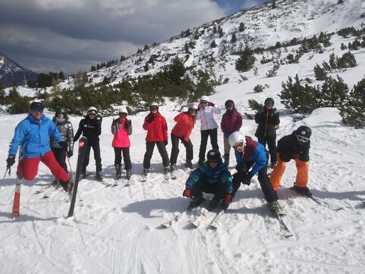 Die GBS-Skifahrt