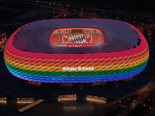 (K)ein Regebogen für die Allianz-Arena?