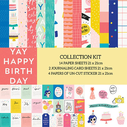 Yay Birthday Collection kit
