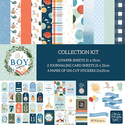 It's A Boy Collection kit