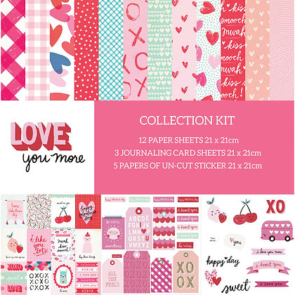 Love You More Collection kit