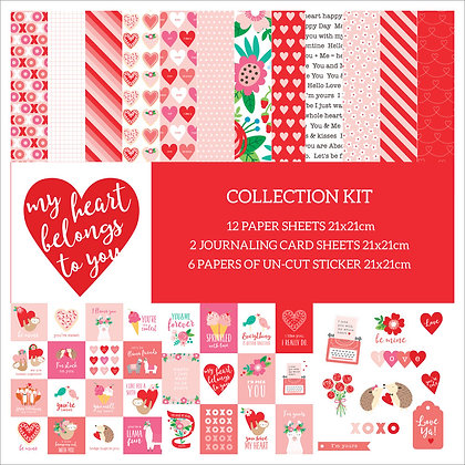 My Heart Belong To You Collection kit
