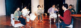 1993二胡レッスン風景
