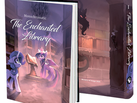 The Enchanted Library Printing!
