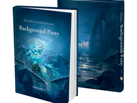 Long Road to Friendship and Background Pony are back in the stock