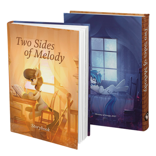 Two Sides of Melody
