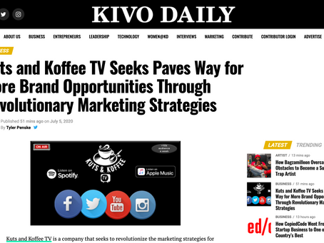 Featured in Kivo Daily