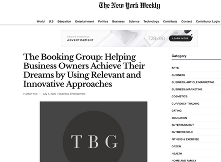 TBG in The New York Weekly