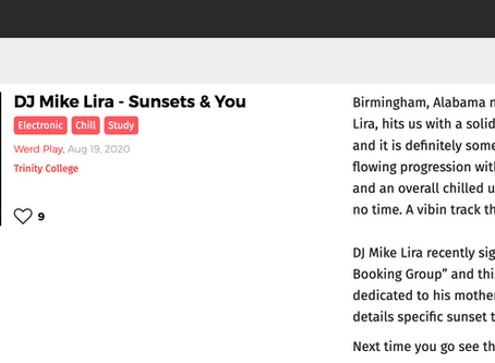 DJ Mike Lira featured in Mugatunes Publication plus T-pain..