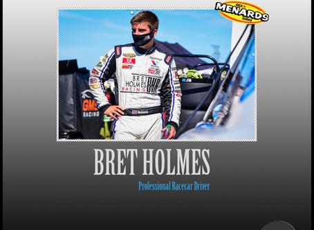 Racing star Bret Holmes joins TBG Agency