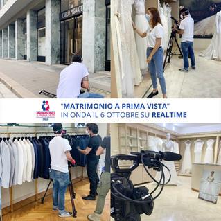 "Carlo Pignatelli veste ""Matrimonio a prima vista"" su Real Time"