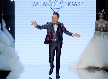Incanta tutti il fashion show di Emiliano Bengasi a Si Sposaitalia 2019