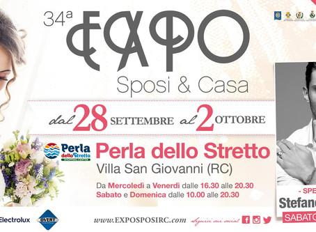 Expo Sposi & Casa 34°edizione Stefano De Martino Special Guest