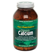 Vegan Calcium Capsules (from Red Algae) (240 Caps)