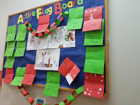 Our Active Advent Calendar