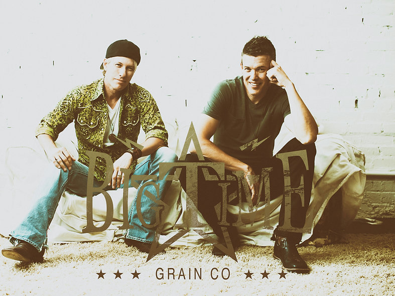 Big Time Grain Co 2017 promotional pic by Brian Rice