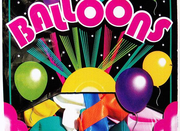 "Latex Balloons Helium 9"" x 144 pcs."
