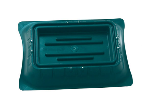 Diamond Line Full Block Saddle Green