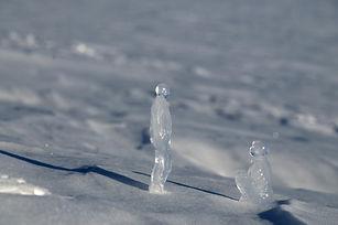 lespassagers sculpture glace antarctique projet penelope