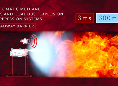 Introducing a new age of highly effective, automatic explosion suppression barriers