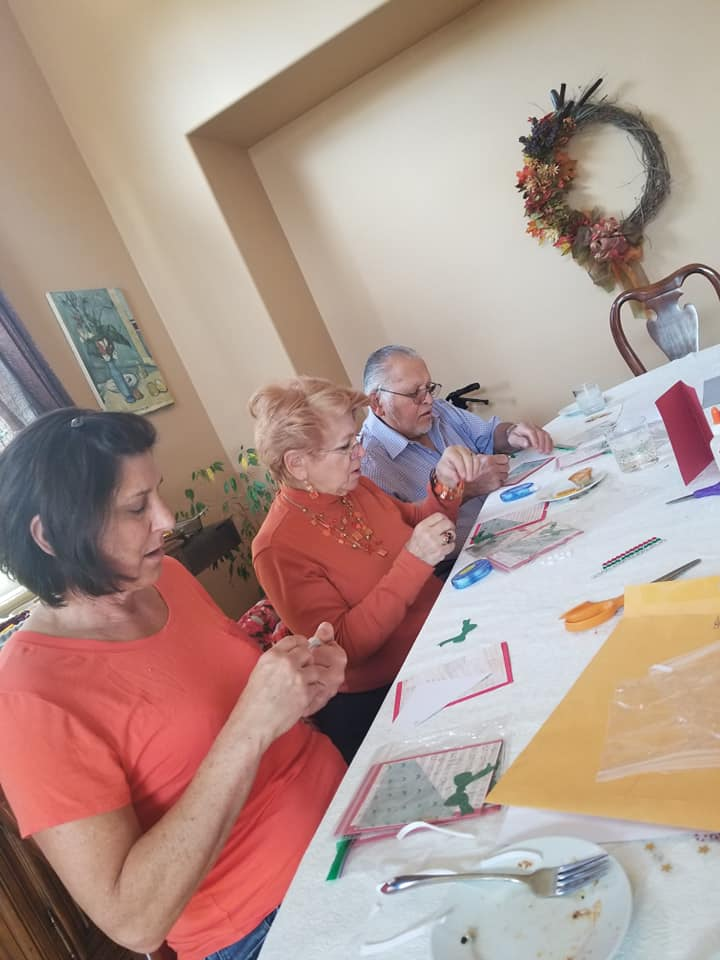 Christmas Card Making 2018