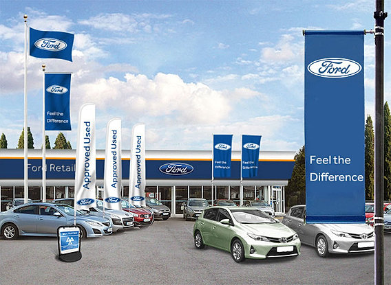 Car Dealership Flags And Forecourt Flags Uk
