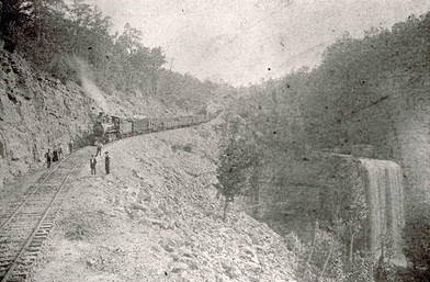 Coal Train at Lula Lake 1880s