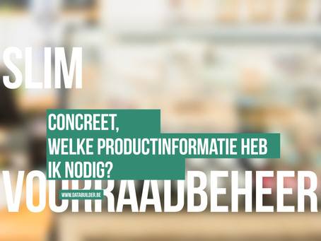 Concreet, wat is productinformatie?