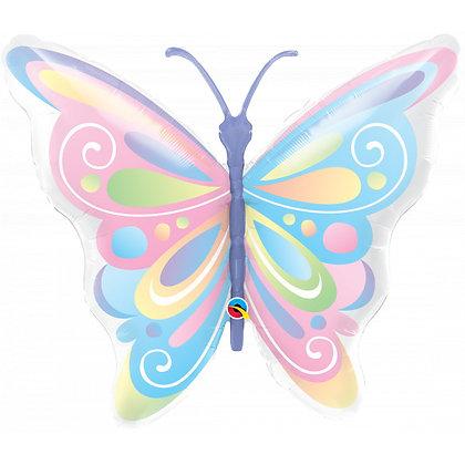 Qualatex - Folieballon vlinder - 102 cm