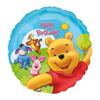 Pooh and Friends Sunny Birthday - 45cm