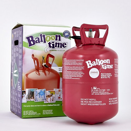 Helium wegwerp tank - voor 25 ballonnen