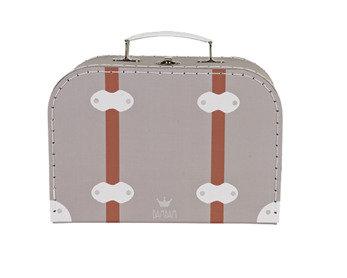 BamBam koffertje grijs - groot formaat