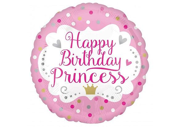 Happy Birthday princess - 45cm