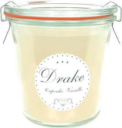 Gourmand geurkaars wekpot - Cupcake vanille