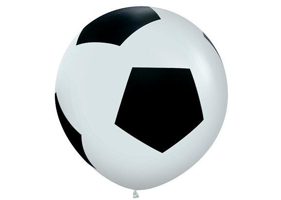 Reuzeballon voetbal - 90cm
