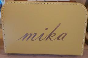 Koffertje mostergeel 35cm