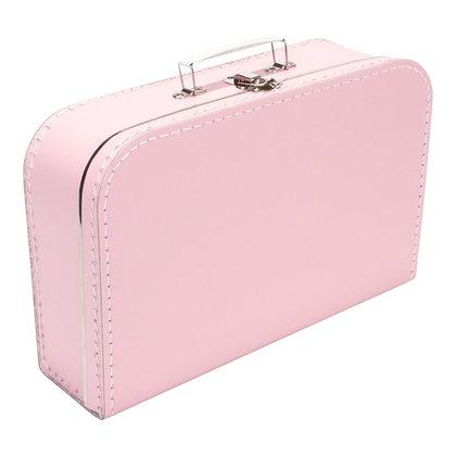 Koffertje met naam 35 cm - BABYROZE
