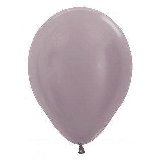 Ballon Satin pearl greige - 30 cm