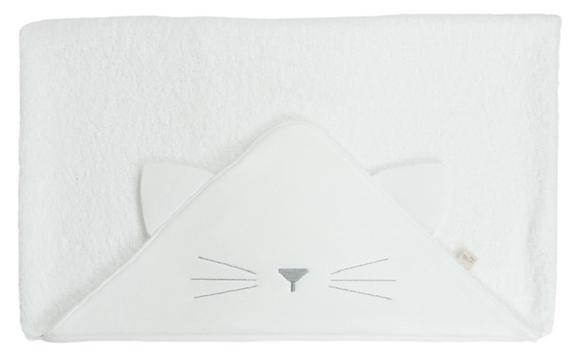 Baby Gi - Badcape kat met oortjes