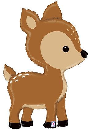 Betallic - folieballon - Bambi hert -  109 cm