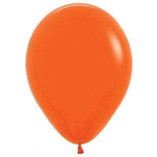 Ballon ORANGE - 30 cm