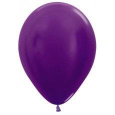 Ballon metallic - VIOLET - 30 cm