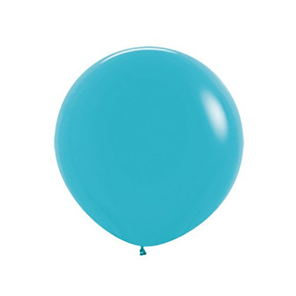 Reuzeballon solid fashion - 60cm - CARIBEAN BLUE
