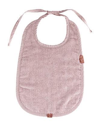 BamBam Slabbetje - oud roze - organic